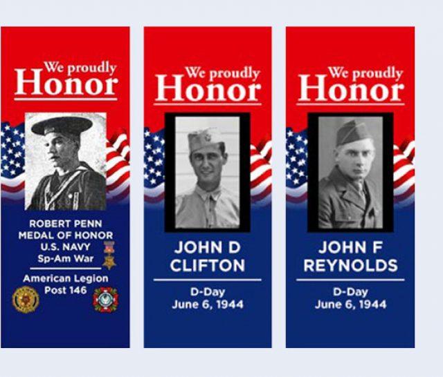 South Boston VA Veterans Banner Program